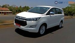 New Toyota Innova Crysta Launched; Price Starts at Rs. 13.84 Lakh