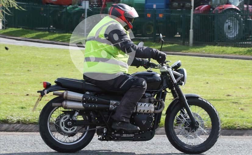 New Triumph Scrambler Spotted Testing Ndtv Carandbike