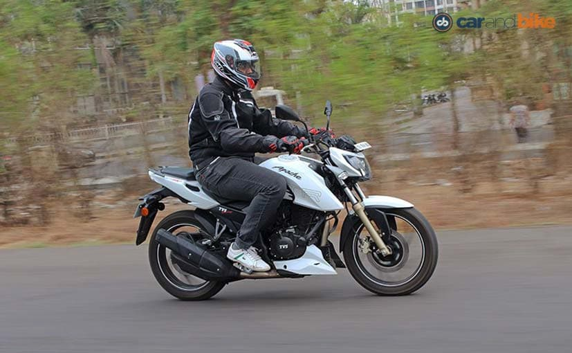 TVS Apache 200 Will Get Dual-Channel ABS Soon