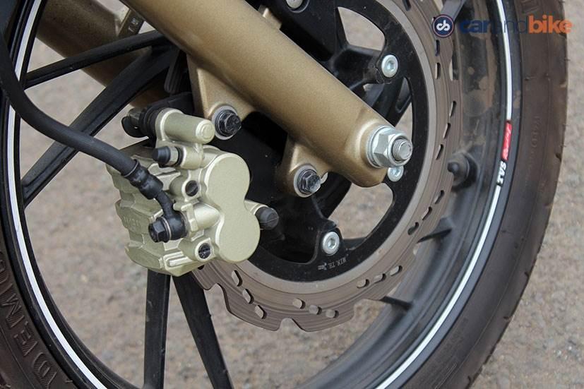 TVS Apache 200 Brakes