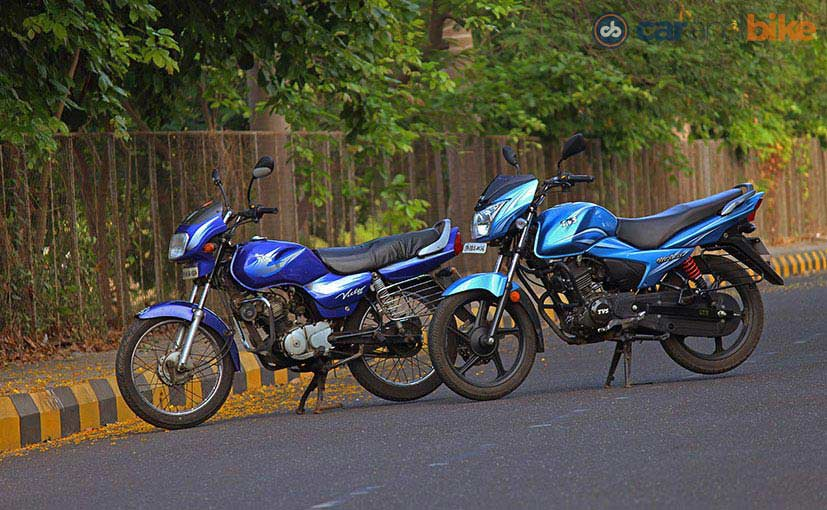 2002 TVS Victor GL and 2016 TVS Victor