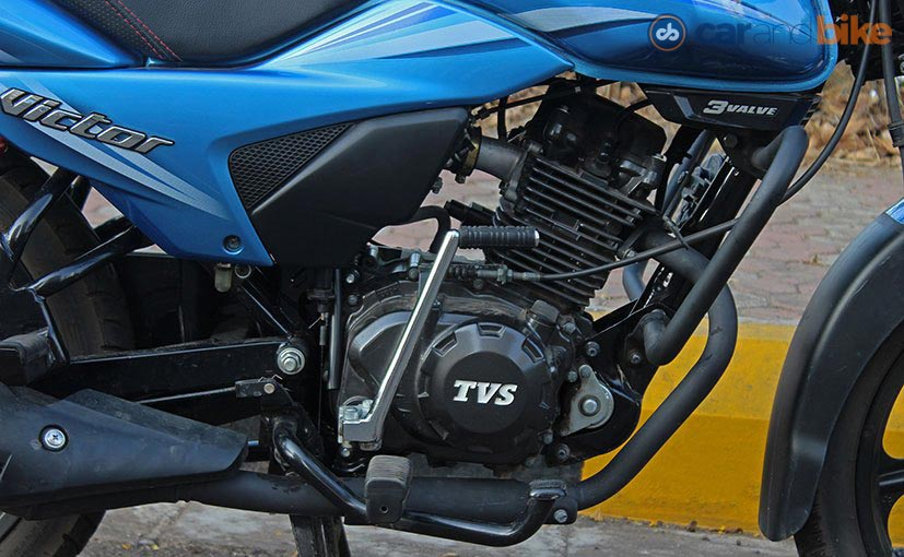 New TVS Victor Engine