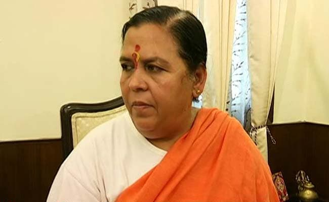 India Close To Become 'Water Scarce' Country: Minister Uma Bharti