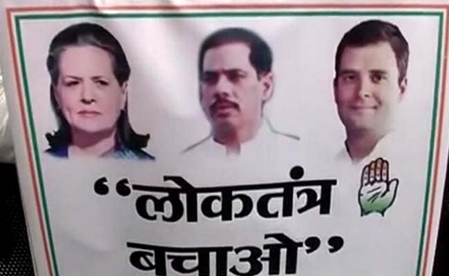 Gandhis, Fighting Graft Charges, Hold Rally. A Role For Robert Vadra Too