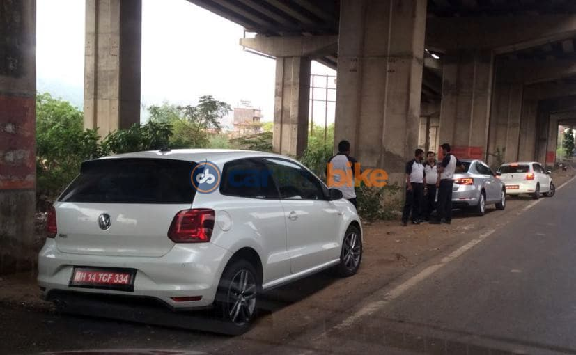 Volkswagen Polo GTI Spied in India