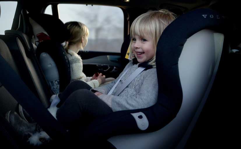 NHTSA said it was significantly safer for young children to be rear-facing than forward-facing in a crash