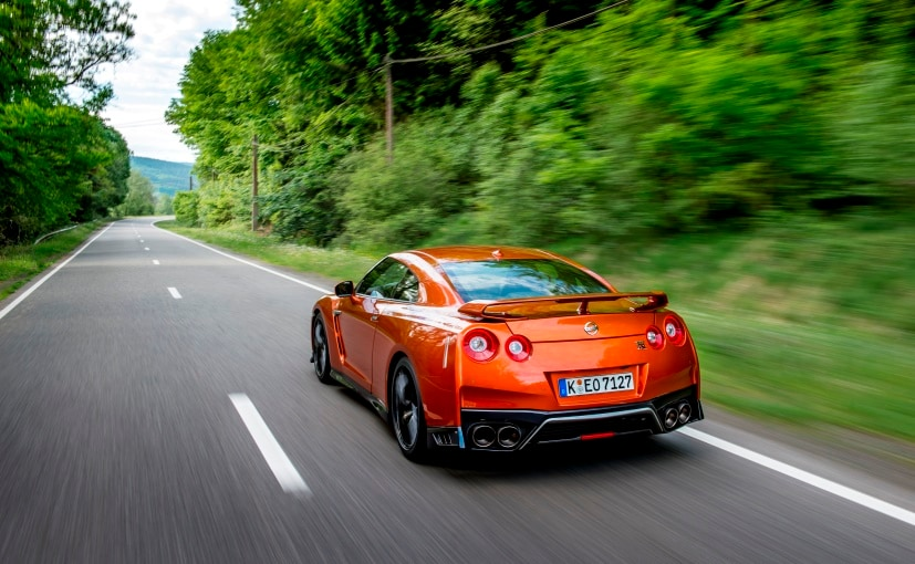 2017 Nissan GT-R India