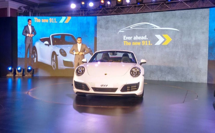 2017 Porsche 911 Launch Price
