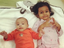 At Arpita's Slumber Party, This is What Ahil Was Upto. See Pics Here