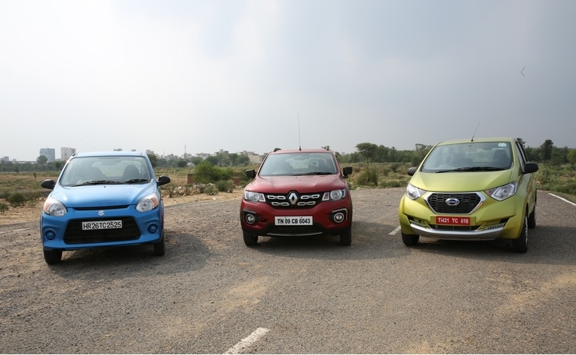 Facelifted Maruti Suzuki Alto 800 Takes on New Datsun redi-GO and Renault Kwid