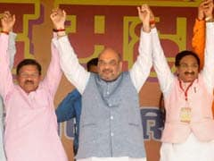 Amit Shah Sounds Poll Bugle In Uttarakhand, Attacks Harish Rawat