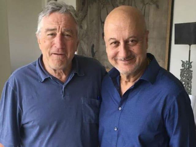 Robert De Niro Congratulates Anupam Kher For Signing 500th Film