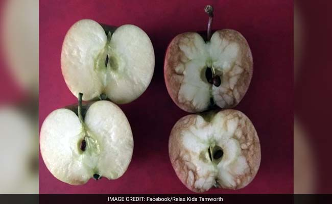 Teacher Used Apples to Explain How Bad Bullying is. Her Post is Now Viral