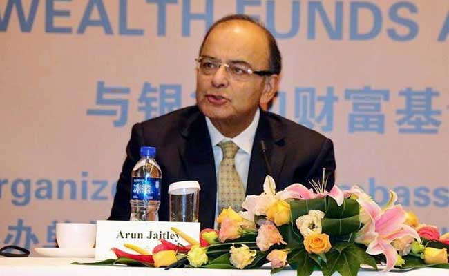 Arun Jaitley Woos Chinese Firms To Invest In India's Infrastructure Sector