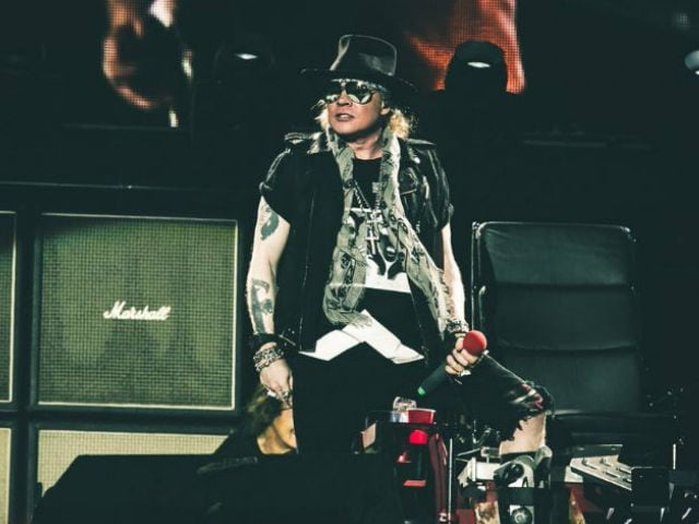 Axl Rose Wants Unflattering 'Fat' Pictures Removed From the Internet