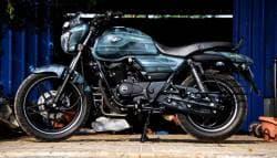 This Custom Made Bajaj V15 By Eimor Looks Battle Ready