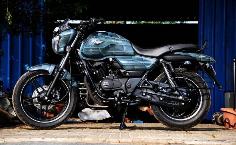 This Custom Made Bajaj V15 By Eimor Looks Battle Ready 1270537