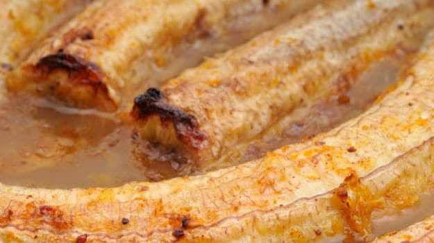 Baked Banana Suzette
