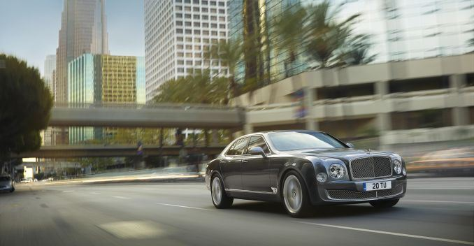 The V8 engine was redesigned in 1980 to fit into the Bentley Mulsanne.