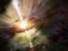 Desert Telescope Stakes Out Supermassive Black Hole
