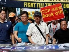 4,000 Hong Kong Protesters Voice Against China On Bookseller Detentions