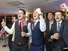 Brexit Supporters Cheer As Britain Decides To Leave European Union After Referendum