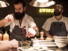 The Dilemma of Every Cool Dude Chef: Beards Are in, Beard Nets Aren't.