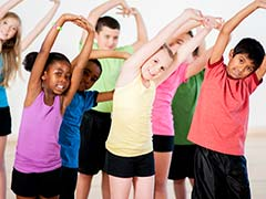Regular Exercise During Childhood May Cut Down Risk of Obesity and Cancer