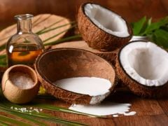 How to make coconut cream from milk for hair