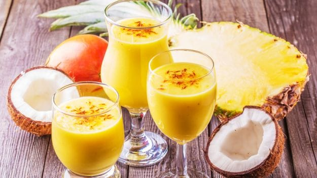 coconut smoothie 625
