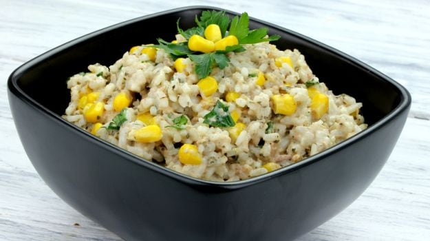 try this amazing corn pulao recipe at home