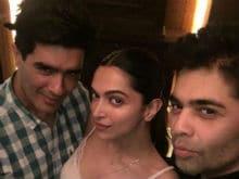 <i>Keeping Up With</i> Deepika Padukone. Party Night With KJo, Manish