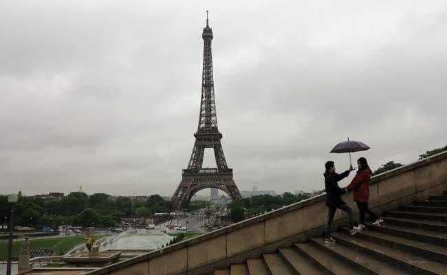 Rain Pummels France, Seine River Overflows Paris Embankments