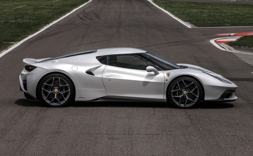 Ferrari 458 MM Speciale Side