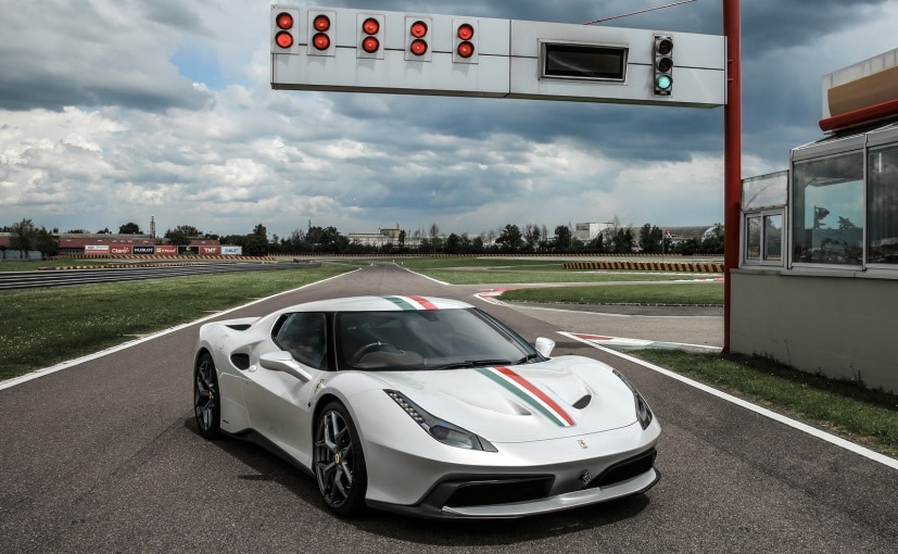 This Ferrari 458 MM Speciale is Built for a Mystery Customer