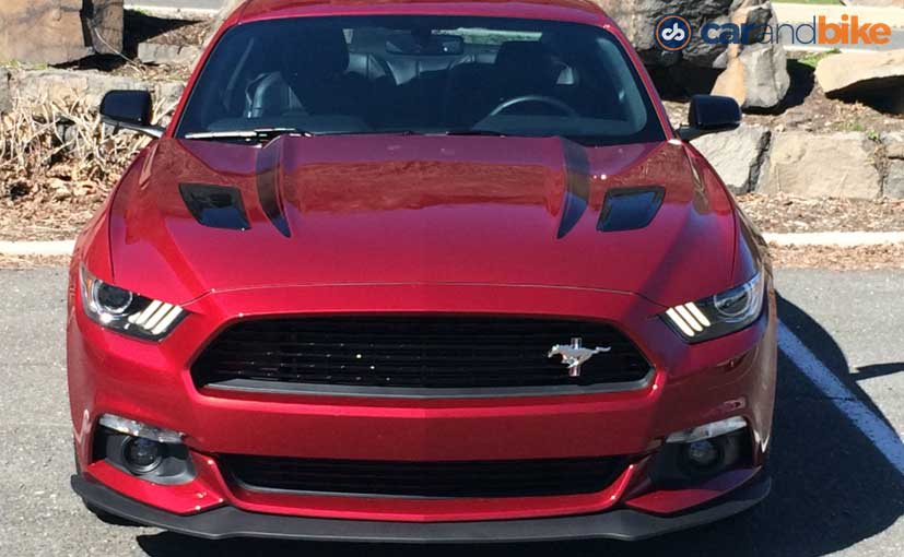 Ford Mustang GT Front