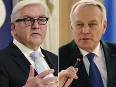 German, French Ministers Plan For 'Strong Europe In Uncertain World'
