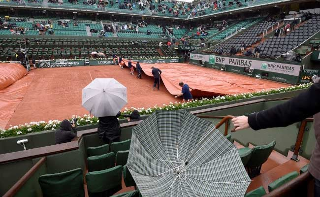 french open rain france afp
