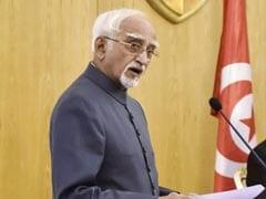 Vice President Hamid Ansari Returns Home After Concluding 2-Nation Africa Visit