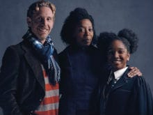 Meet the Weasleys. Harry Potter Play Stars Ron, Hermione and Rose