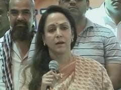 UP Elections 2017: Akhilesh Yadav Government Hampering Development In Mathura, Says Hema Malini