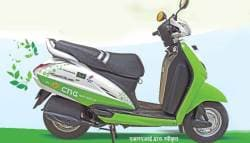 Is This the Start of CNG Powered Two Wheelers?