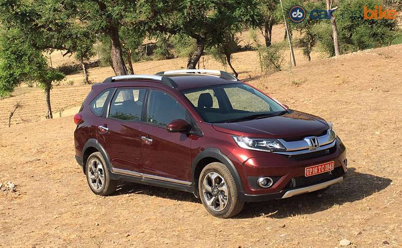 The new features have been introduced in the VX grade of the Honda BR-V