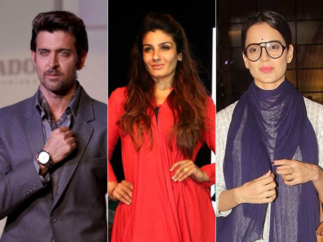In Hrithik vs Kangana, Raveena Tandon is 'Not Taking Sides'