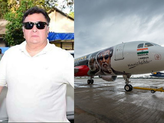 Rishi Kapoor is as Intrigued by Rajinikanth's Kabali Plane as You Are