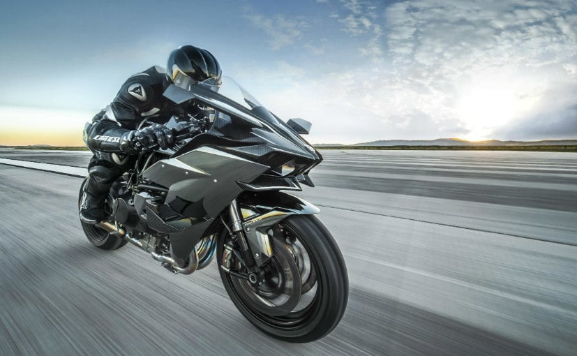 Indias First Kawasaki Ninja H2r To Be Delivered Today Priced At Rs