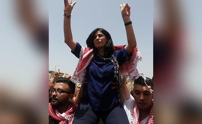 Palestinian MP Khalida Jarrar Gets 6 Months In Israel Jail Without Trial