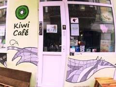 Men Wearing Sausage Necklaces Lob Meat At Vegans In Tbilisi Cafe Brawl