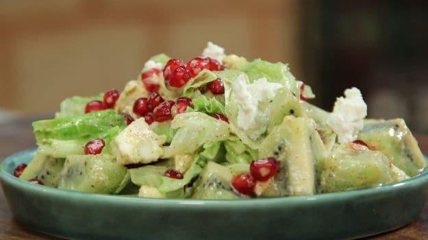 Pomegranate and Kiwi Salad