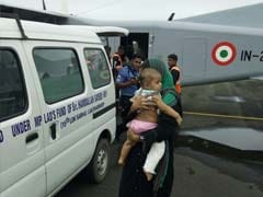 9-Month-Old Breaks A Leg In Lakshadweep, Navy To The Rescue